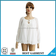 Aisa chiffon style blouse factory women clothes