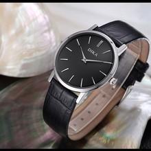 2015 genuine leather quartz movt watch japan quartz watch men