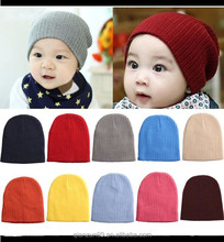 Wholesale colorful unisex slouch beanie hat / baby winter beanie caps