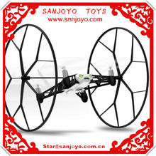 Parrot Rolling Spider Quadcopter Controlled By iPhone / iPad Android