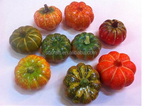 Decorative fake vegetables mini artificial pumpkins for home decoration/Yiwu sanqi craft factory