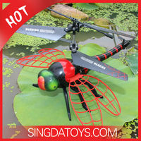New Arriving!Cool S700 Red Dragonfly 4.5CH Fly Dragonfly Rc Helicopter