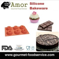 Sugar Craft Silicone Chocolate Cake Baking Mold Bakeware Silicone Mold