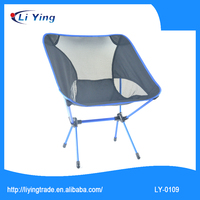 Portable Aluminum Camping Chair Outdoor Appliance Practial Chair With Carry Bag