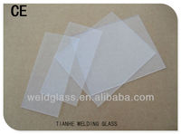 ANTI SPATTER CR39 COVER WELDING LENS WITH CE CERTIFICATE