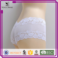 New Design Delicate Hot Lady Flower Lace Teens Tanga
