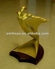 metal trophy for souvenir and corporation display