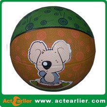 high quality cheap price rubber basketball size 7