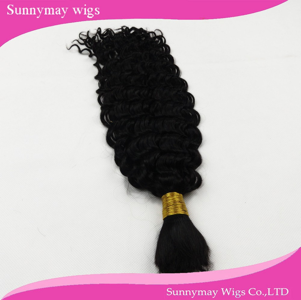 Stock Fast Shipping Curly Brazilian Virgin Human Hair Bulk