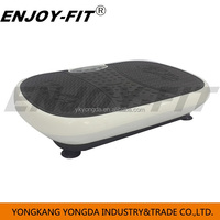 Whole body shaker Vibration Plate Crazy Fit Massage Vibration Machine with led screen