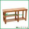 100% Natural Bamboo Shoe Bench Shoe Storage Racks Shelf Organizer