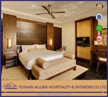 India Grand Hyatt yd-0507 hotel furnitre solid wood modern luxury fabric bedroom furniture