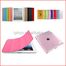 New Ultra Thin Magnetic Leather Smart Cover Case for iPad 2 3 4 + back case cover