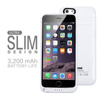 Slim Power Bank Case with Smart Switching and Precise Power Display for iphone6