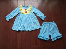 2015 New Arrival wholesale factory price imported child boutique clothing boutique child dress clothing