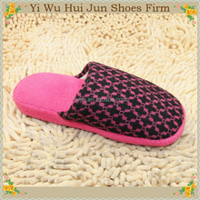 Import Slippers China / Cotton Bedroom Closed Toe Slipper Cotton Terry Slippers 2015