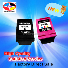 Ink for HP61XL BK 61XL C compatible Ink cartridge