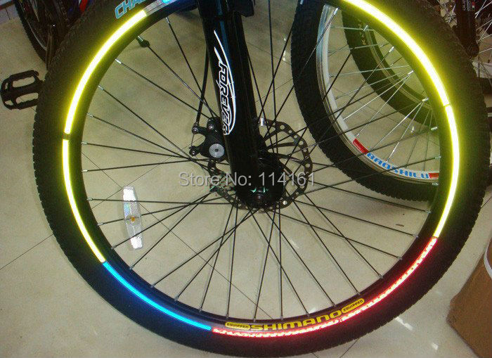 Bike With Car Rims Bike Reflective Strips 3m Car