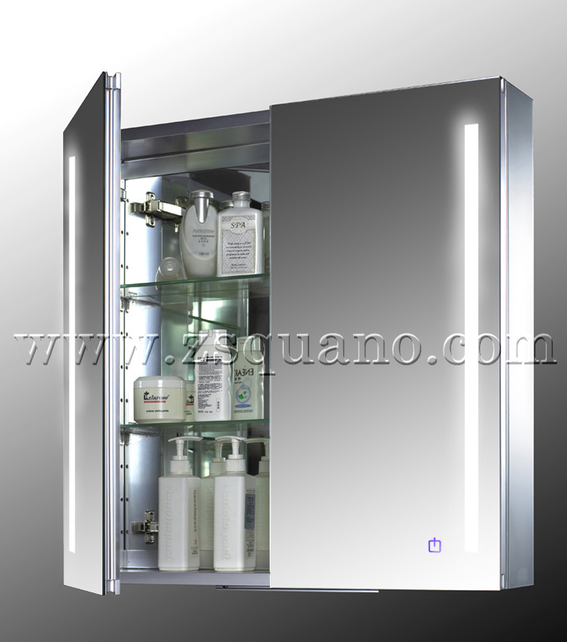 led light bathroom cabinet with demister buy bathroom cabinet led