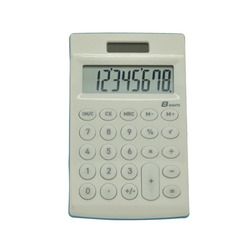 8 Digits Solar Desktop Calculator, Mini Pocket Calculator