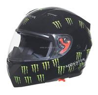 DOT double visors New model flip up helmet