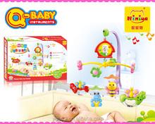 Q-baby en plastique musique pas cher bébé mobile de bell jouets gros