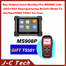 2015 Buy Original Autel MaxiSys Pro MS908P with J2534 ECU Reprogramming Box for VCI Model To Get MaxiTPMS TS501 For Free
