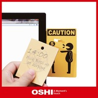 Creative office stationery memo pad, office stationery of memo hanger