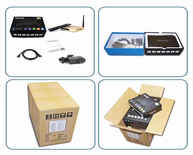 Amlogic S812 4k Android 5.1 free to air black box iptv internet tv receiver