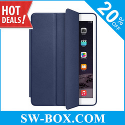 Magnetic Smart Tri-fold Faux Leather Cases for iPad Air 2