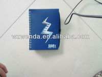 notebooks with plastic cover