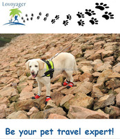 cheap rain boots waterproof pet boots for dog