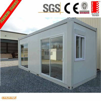 20ft Foldable Glass Container House for living