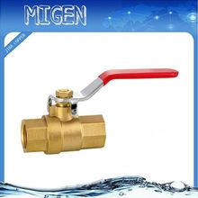 lead-free brass ball valve nick plated JD-4006