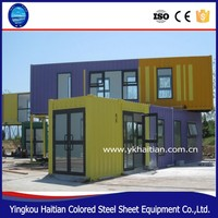Luxury/low cost prefab container house /ready made container home prices made in the China , Best buy!