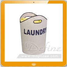 Laundry Accessories Canvas Laundry Tote Hamper Laundry Bag