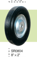 400-8 wheels for wheel barrow Various Solid rubber wheel