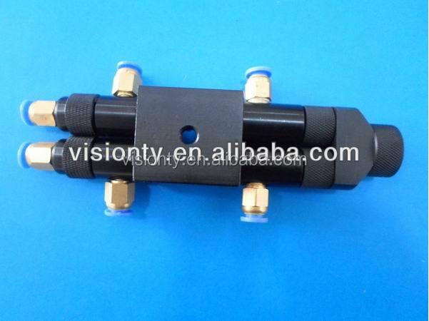 065AB two component pneumatic super ab glue dispensing valve epoxy resin glue dispensing machine spray glue machine