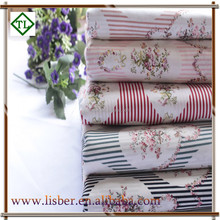 TC 80/20 flower or animal print cotton poplin fabric from china factory