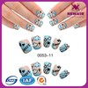 Joyme cloud design acrylic false artificial nail tips