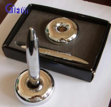 Metal Pen Stand Table Ballpoint Pen for Promotion