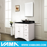 VAMA Top 10 Cabinet Manufacturer 36 Inch Transitional Bathroom Vanity
