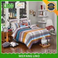 new design promotion pattern 3pcs cotton bedding set quick delivery