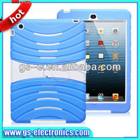 Robot Design for ipad mini case, Hard Case with Stand for ipad case