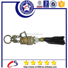 cheap wholesale antique custom metal keychains made in china