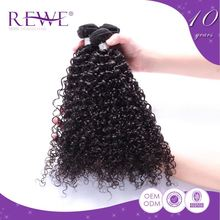Exclusive Clean And No Smell Curly Human Kinky Hair Weave For Black Women