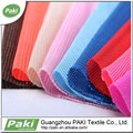 China manufacter 100% de tela de poliéster textil para sportshoes para lavandería