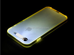 Top selling light up incoming call LED flash case for iphone6