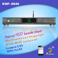 High quality HD karaoke machine /player with HDMI 1080P, Support Air KTV ,Support over 3TB up to 16TB