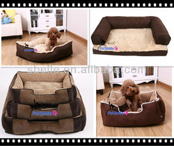 2016 hot sale deerskin fabric pet beds of Dog bed